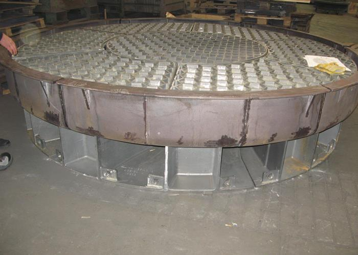 Industrial furnace construction